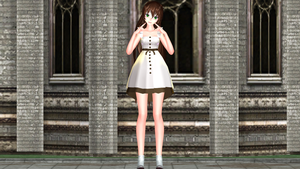 MMD Jane Simple dress Model Dl by Blackrabbit1234