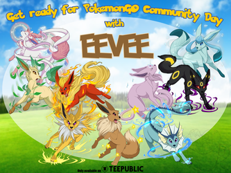Get Ready for Eevee Community Day! by NightTwilightWolf