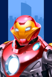 Ultimate Iron Man by Decepticoin