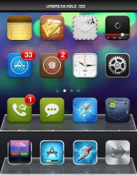 Unbreakable iOS iPhone by turnpaper