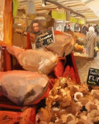 French Market - Jambon Serrano by xxchef