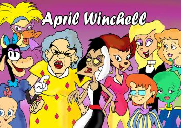 April Winchell by raggyrabbit94