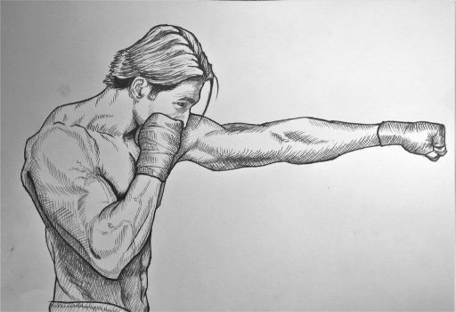 Boxing by Goldahe