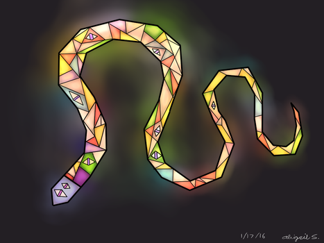 010: Great Rainbow Snek by amerillo342