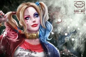 Harley Quinn - Suicide Squad by Ruby--Art