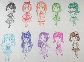 More Quick 20 Point Pen Adopts - OPEN (3/10) by StarlitMoth