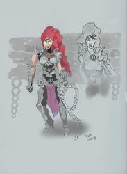 Fury concept art study | Darksiders III by TomHologram
