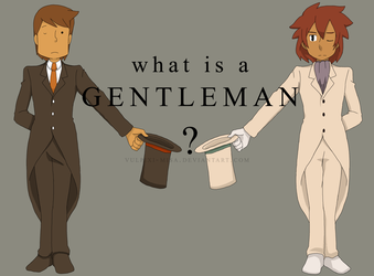 PL: MM: What is a Gentleman? by Vulpixi-Misa