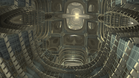 Invcyl Menger Cage by hypex2772