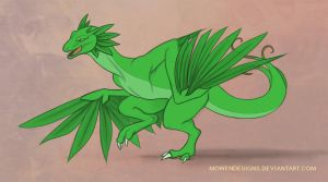 DragonVale - Plant by MowenDesigns