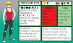 Susumu Abe ACT 2 Official Reference (+VB) by GraySlate