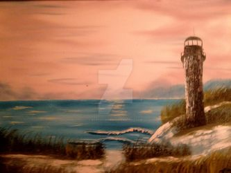 lighthouse by babyshortie17