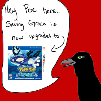 Saving Grace Update by Poes-crow