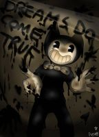 Bendy in dreams do come true... by angyluffy