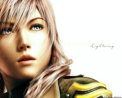 Final Fantasy XIII Lightning by MaybeTomorrow07