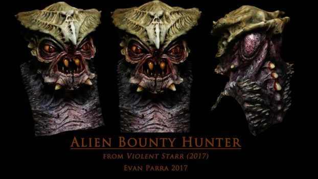 Alien Bounty Hunter mask  by evanparrafx