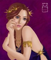 Cassandra of Troy by mirie