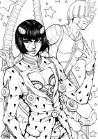 Eclipse-BrunoBuccelati[JoJosBizarreAdventure]_Line by Lunaris-Eclipse