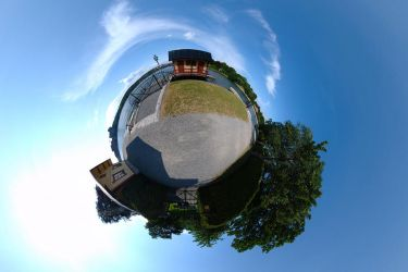 Planet red house ::360 Pano:: by rdevill