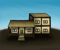 A house by lunejaune145
