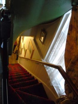 Old fashioned stair case by kirk12Lumiere