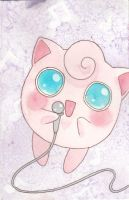 Singing Jigglypuff by agalmatophiliac