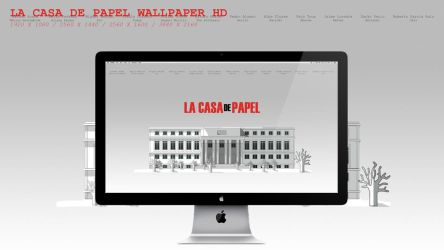 La Casa De Papel Wallpaper HD by BeAware8