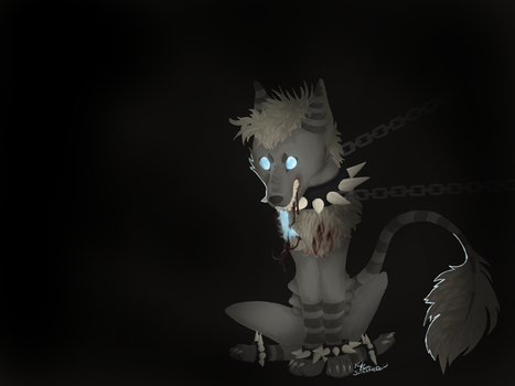 Shackel (Gore Character) by SmitchArt
