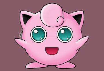 Day 59: Jigglypuff by NoxYukianesa