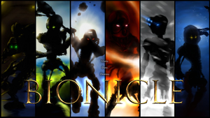 Bionicle 2001 Wallpaper V2 by Llortor