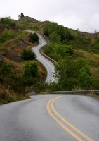 The Long and Winding Road by Artfoundry