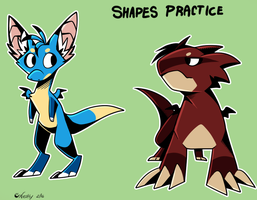Shapes Practice by Nestly