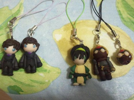 Sherlock 2.0, Toph Beifong, and Equalists by Jounin-SZ