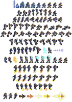 PSX Ultimate Armor in 16-bit by DanmanX5792