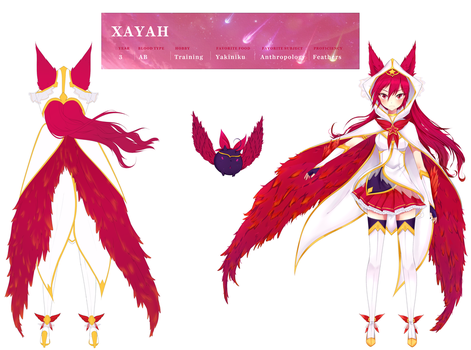 Star Guardian Fanwork: Star Guardian Xayah by KatsuMaya