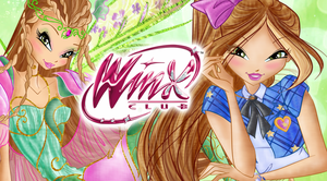 Flora Bloomix Fairy Wallpaper by Wizplace