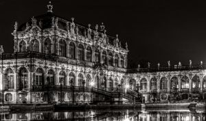 Dresden - Zwinger at night by pingallery