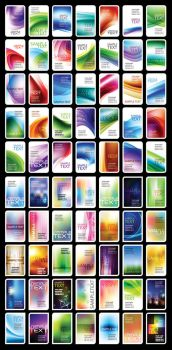 Vector Business Card Collections by vectorbackgrounds
