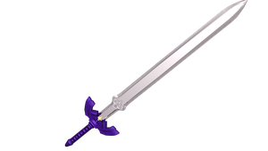 -The Master Sword Render 3- by DarkShadowRage
