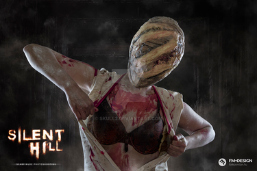 Silent Hill Scary Nude Photoshooting 02 by Skull2