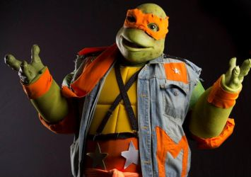 Coming out of Their Shells Michelangelo Cosplay by jrartist1229