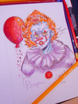a quick Pennywise doodle by Pastelli-kiwi
