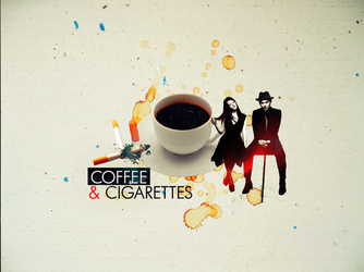 COFFEE . CIGARETTES by PleaseMelancholia