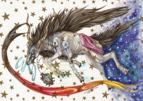 starry bringer by LupusShetani