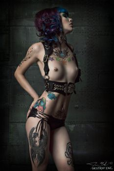 Nudity and Tattoos Returns by destroyinc