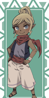 Tetra the Pirate by cnooz