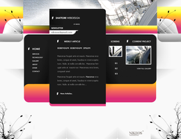 Shattore Webdesign Final by Nikeos