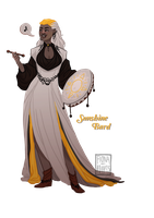 [closed] Adopt - Sunshine Bard by fionadoesadopts