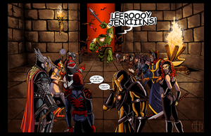WOW Avengers by Theamat