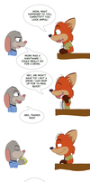 COMIC: All You Needs Is Friends (And Some Drinks) by Cy-Bobcat